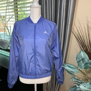 Adidas women's purple jacket Sz.S